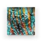chie watanabeのFlower Acrylic Block