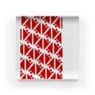 気ままに創作 よろず堂のサーヴィエ行進曲 紅 Acrylic Block