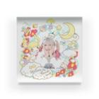 ようなぴしょっぴんぐまーとのWelcome To YO(u)NAP! World Acrylic Block