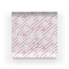 トシダナルホのピンクのお菓子 Acrylic Block