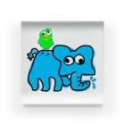 HARUPINESSの象がラリったゾォ~ Acrylic Block