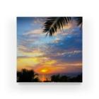 mizuphoto.comのsunset beach Acrylic Block