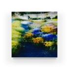 Parfume-weaverの季節の花シリーズ パンジーシャッフルバージョン Acrylic Block