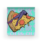Mieko_Kawasakiの欲望のピザ🍕 GUILTY PLEASURE PIZZA HIGH HEEL Acrylic Block