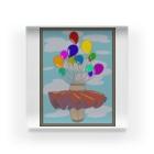prunelleの風船とスカート Acrylic Block