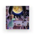 まめまめまの満月 Acrylic Block