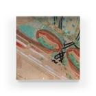 承香院(じょうこういん)オリジナルグッズの雪の中を待つ平安姫君 平安古画模写より (承香院グッズ) Acrylic Block