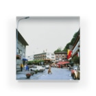 FUCHSGOLDのリヒテンシュタイン:ファドゥーツの街角風景 Liechtenstein: Vaduz Acrylic Block