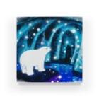 honamirukaの光の洞窟 Acrylic Block