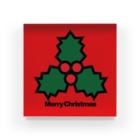 NICE ONEのクリスマスオーナメント ヒイラギ Acrylic Block