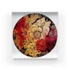ASH_gardenのMagical flower Acrylic Block
