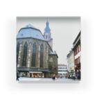 FUCHSGOLDのドイツ:ハイデルベルク旧市街の精霊教会 Germany: Heiliggeistkirche am Heidelberg Acrylic Block
