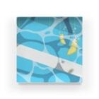 yu.の夏のプールに飛び込んだ(レモン) Acrylic Block