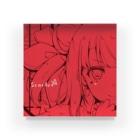 式部めぐりのScarlet Acrylic Block