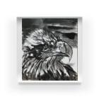 松木 昭洋の天空を司る鳥の王者【鷲】 Acrylic Block