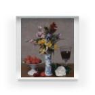世界の絵画アートグッズのアンリ・ファンタン=ラトゥール 《婚約の花束》 Acrylic Block