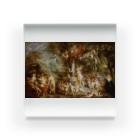 世界の絵画アートグッズのピーテル・パウル・ルーベンス 《ヴィーナスの饗宴》 Acrylic Block