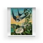 世界の絵画アートグッズのエレナー・ヴェア・ボイル 《おやゆび姫》 Acrylic Block