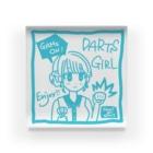 SWEET&SPICY 【すいすぱ】のGAME ON! 【SWEET LIGHTBLUE】 Acrylic Block