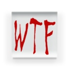 WTFのWTF Acrylic Block