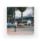 FUCHSGOLDのメキシコ:メキシコシティの風景写真 Mexico: view of Mexico City Acrylic Block