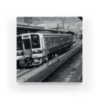 Sun Sun's official shopの鉄道写真@岡山 Acrylic Block