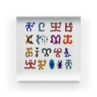 puikkoのロンゴロンゴ2(彩色) Acrylic Block