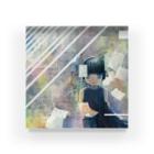 サワダモコ Moco SawadaのLook, these are all forgotten informations Acrylic Block