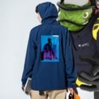 BACI  fashionの01-C Anorakの着用イメージ(裏面)
