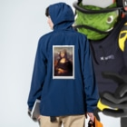 xox_syotaのキャップ モナリザ Anorakの着用イメージ(裏面)