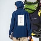 yuustagramの暇人による気まぐれアート Anorakの着用イメージ(裏面)
