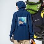 M@SAのキミノハナシガスキ Anorakの着用イメージ(裏面)