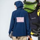 トシダナルホのラジオガール2 Anorakの着用イメージ(裏面)