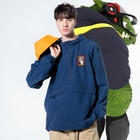 RaysのClever girl Anorakの着用イメージ(表面)