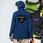 GREAT 7のベースボール Anorakの着用イメージ(裏面)