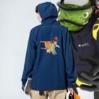 Rock catのCAT 警備隊 Anorakの着用イメージ(裏面)