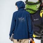 HORSMART公式ショップの色選べます『HORSMARTオリジナル商品』 Anorakの着用イメージ(裏面)