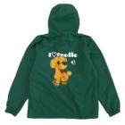 Hi-BoのI Love Poodle(白抜き文字) Anorakの裏面