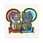 Miku Corporation  Gallery星猫の千万両✨招き猫 Bandana