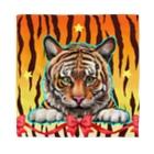 油絵描きの小物売り場の虎の子ちゃん Bandana