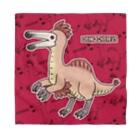 すとろべりーガムFactoryの恐竜 デイノケイルス (バンダナ・背景カラー) Bandana