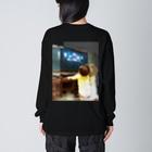 musicshop BOBの配信ライヴ - live streaming Big silhouette long sleeve T-shirts
