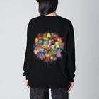 スーパーファンタジー絵描き 松野和貴のちょこっと妖精 Big Silhouette Long Sleeve T-Shirt