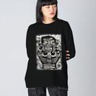 KEIHAMMのRebirth Big silhouette long sleeve T-shirts