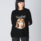 Hitoshi KurokiのTearDrop Big silhouette long sleeve T-shirts