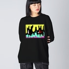 Miyuki_SakagamiのB.Smile@ロンT&パーカー&スウェット Big silhouette long sleeve T-shirts