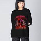 HYBS ストリートスタイルのMOMOM (クローム) Big silhouette long sleeve T-shirts