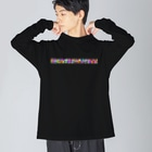 meiroのカラフルな七対子 Big silhouette long sleeve T-shirts