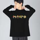 meiroのカラフルなmeiro Big silhouette long sleeve T-shirts