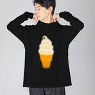 ☀️ひなたぼっくすの🍦光るソフトクリーム Big Silhouette Long Sleeve T-Shirt